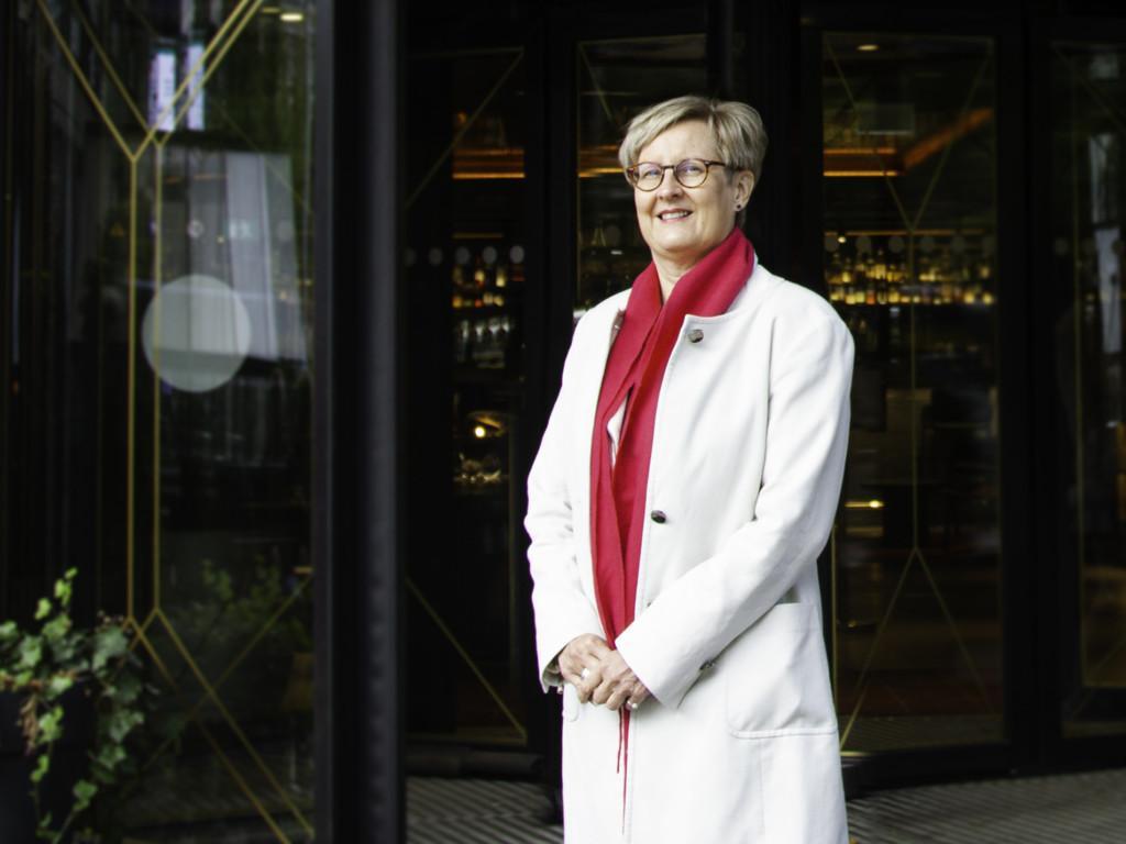 Helsingin matkailupäällikkö Nina Vesterinen.